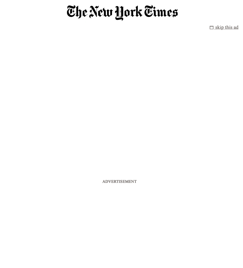 The New York Times at Tuesday May 1, 2012, 12:12 p.m. UTC