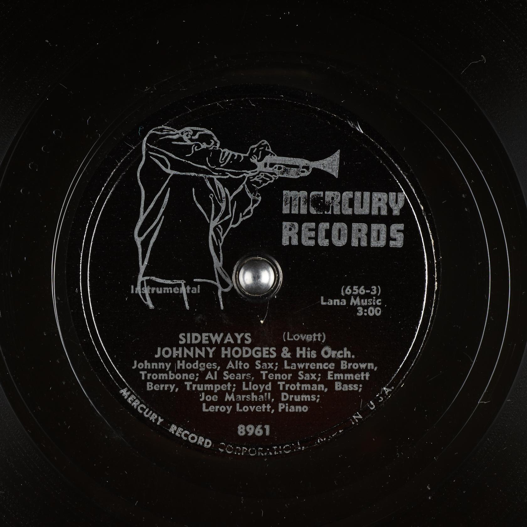 Sideways : Johnny Hodges & His Orch. : Free Download ...