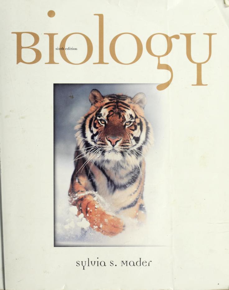 Biology by Sylvia S. Mader