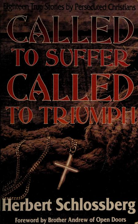 Called to suffer by Herbert Schlossberg