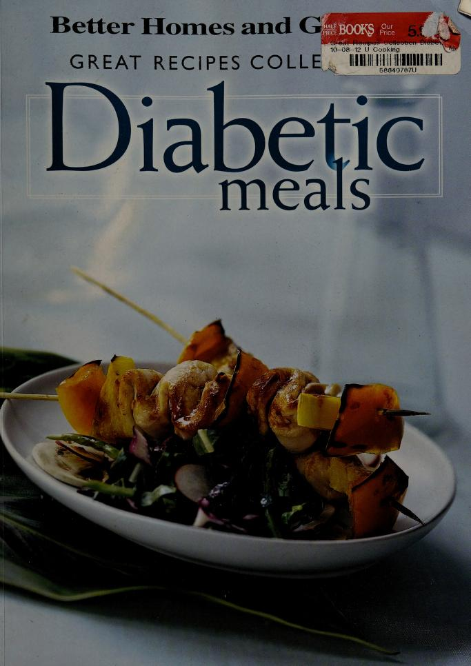 Great Recipes Collection Diabetic Meals by